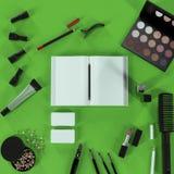 企业模板的嘲笑 化妆品 库存照片