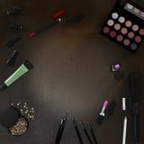 企业模板的嘲笑 化妆品 库存图片