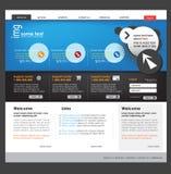 企业模板网站 图库摄影