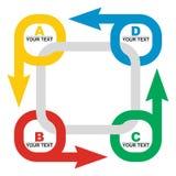 企业流量概念 免版税图库摄影