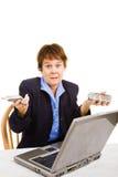 企业混淆的技术 免版税库存照片