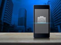 企业照相机商店网上概念 皇族释放例证