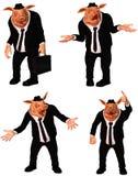 企业猪 免版税库存图片