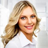 企业现代妇女 免版税图库摄影