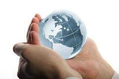 企业现有量世界 免版税库存照片