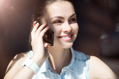 企业现代妇女年轻人 免版税图库摄影