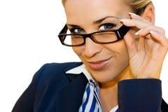企业玻璃夫人 免版税库存图片