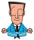 企业瑜伽 免版税图库摄影