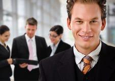 企业生意人主导的小组 免版税库存照片