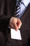 企业生意人看板卡 免版税图库摄影