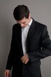 企业生意人诉讼 免版税库存图片
