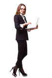 企业电话中心夫人, 免版税库存照片