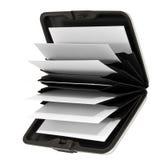 企业电话卡持有人办公室访问 免版税库存图片