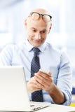 企业男性模型诉讼 免版税库存照片