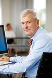 企业男性模型诉讼 免版税库存图片