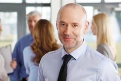 企业男性模型诉讼 库存照片