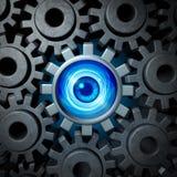 企业监督概念 免版税库存图片