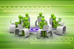 企业目标的概念 免版税库存照片