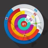 企业目标销售创造性箭的想法 免版税库存照片