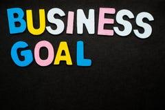企业目标 免版税库存图片