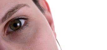 企业眼睛 免版税图库摄影