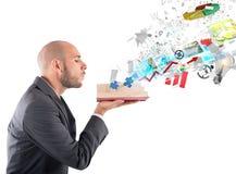 企业知识 免版税库存图片