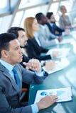 企业研讨会 免版税图库摄影
