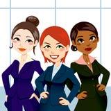 企业确信的妇女 免版税库存照片
