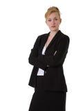 企业确信的妇女 图库摄影