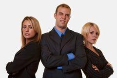 企业确信的小组 免版税图库摄影