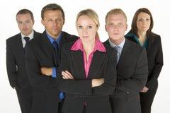 企业确定的人小组 免版税图库摄影