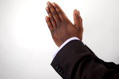 企业祈祷 库存照片