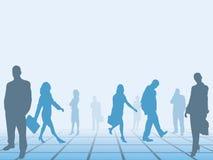 企业移动人 免版税库存图片