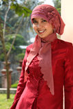 企业穆斯林妇女 免版税库存照片