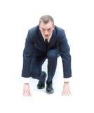 企业竞争人 免版税库存图片