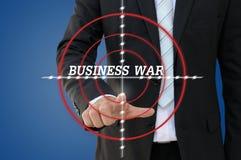 企业竞争概念军事演习  免版税库存照片
