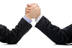 企业竞争概念敌手 免版税库存照片