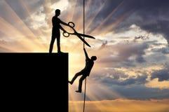 企业竞争的概念 免版税图库摄影