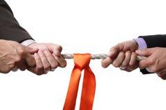 企业竞争 免版税图库摄影