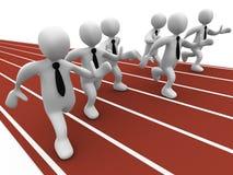 企业竞争 库存例证