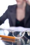 企业等律师实习教师妇女 免版税库存照片