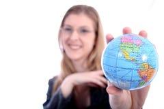 企业等律师实习教师妇女 免版税库存图片