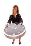 企业管理的时间 免版税库存照片
