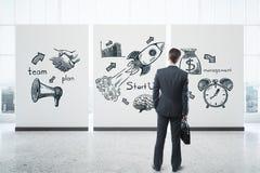 企业精神概念 免版税库存照片