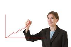 企业系列稳定妇女 免版税库存图片