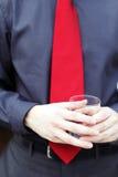 企业红色 免版税库存照片