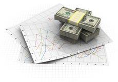 企业绘制 免版税库存照片