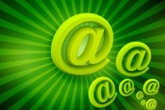 企业绿色符号 免版税图库摄影