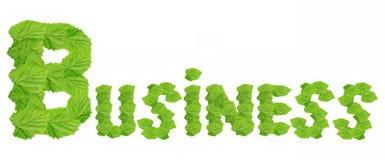 企业绿色 免版税库存图片