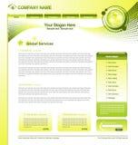 企业网模板 免版税库存照片